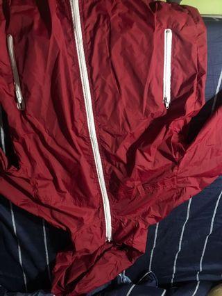 🚚 全新深紅防風外套