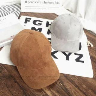 Instock Brown Suede Cap