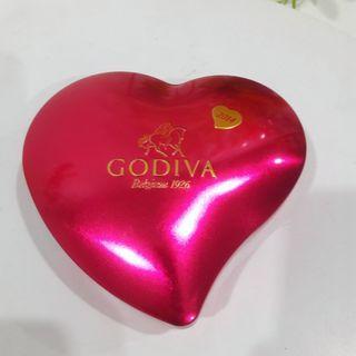 GODIVA Belgium 2014 Chocolate Collectable Storage Tin Box