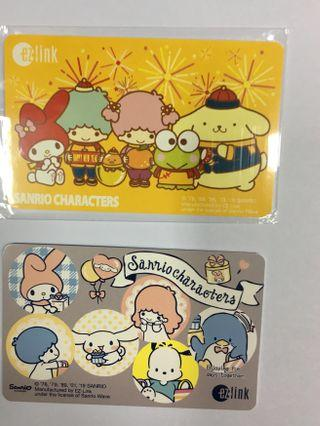 BN - Sanrio Characters Twinstars N Friends Ezlink Card - Both for $24