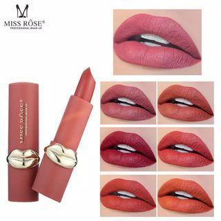 Miss ROSE 12 Warna Matte Lipstik Tahan Air