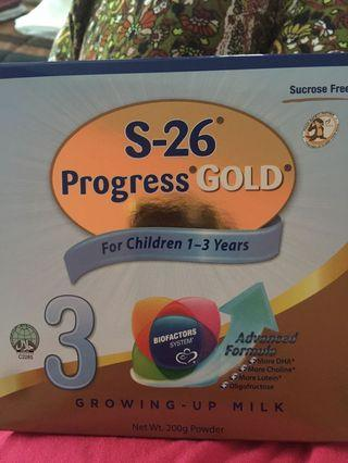 S26 progress gold Stage 3 (200g).                                       2 for $15