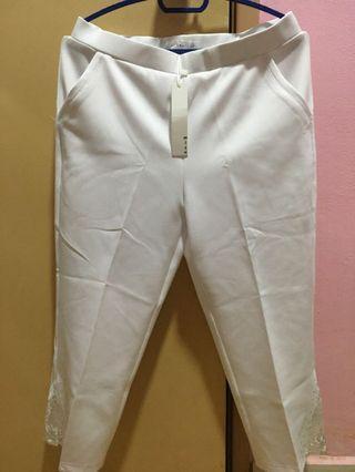(NEW)White Pants