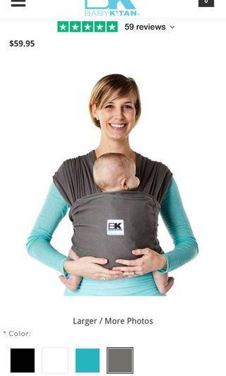 🚚 BABY K'TAN Breeze Carrier