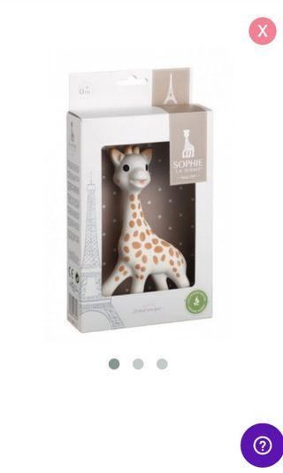 🚚 Sophie The Giraffe Teether