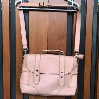 Sling Bag Peach Fladeo