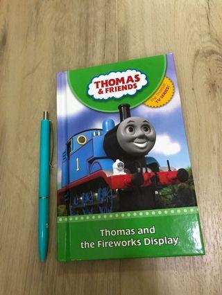 🚚 Preloved Thomas & Friends storybook: Thomas and the Fireworks Display (pre-schoo, P1)