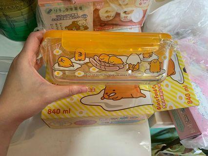 蛋黃哥 Sanrio 玻璃盒