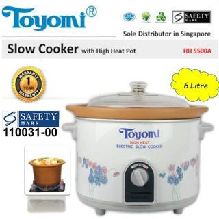 TOYOMI Electric Rice Cooker 6 Litres