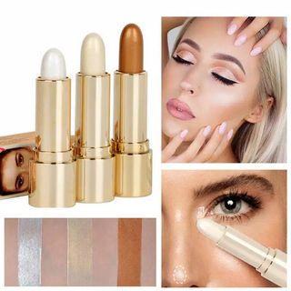 HANDAIYAN Face Shading Powder Makeup High Light Cream Bar Nose Face Concealer Stick