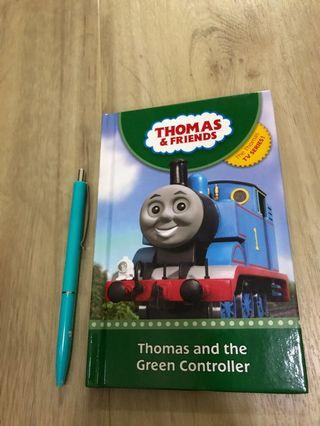 🚚 Preloved Thomas & Friends storybook: Thomas and the Green Controller (pre-schoo, P1)
