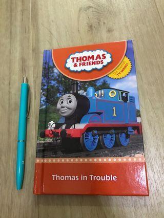 🚚 Preloved Thomas & Friends storybook: Thomas in trouble (pre-schoo, P1)