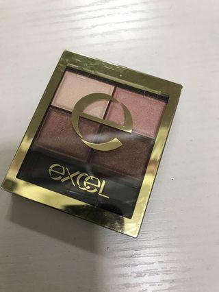 Excel eyeshadow 四色眼影