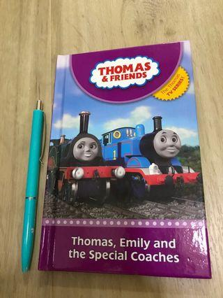 Preloved Thomas & Friends storybook: Thomas, Emily and the Special Coaches (pre-schoo, P1)