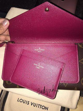 HARD TO FIND!! Louis Vuitton Jeanne Wallet