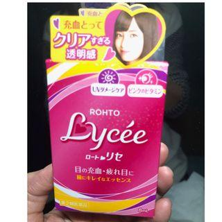 Japan Rohto Lycee Eye Drops 日本樂敦 Lycee 眼藥水