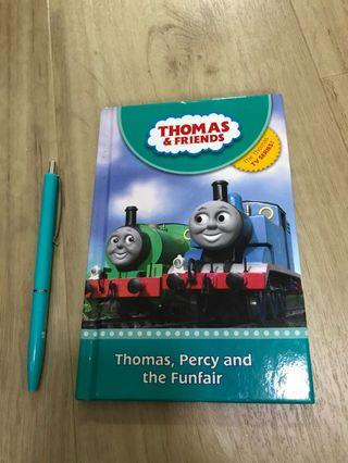 🚚 Preloved Thomas & Friends storybook: Thomas, Percy and the Funfair (pre-schoo, P1)