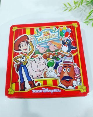 TOKYO Disney Sea Toy Story Mania Collectable Multipurpose Storage Tin Box