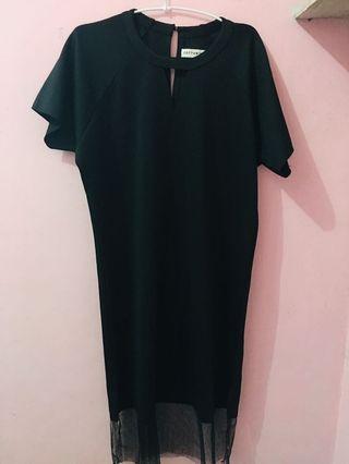 Black dress #cottonink