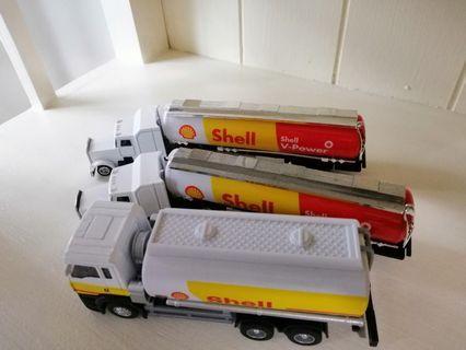 Shell oil tanker