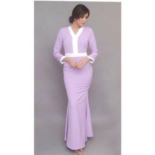 Studio Frost Purple Maxi Dress