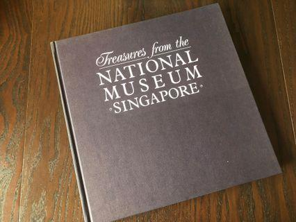 Singapore Hard Cover Book treasures from the National Museum