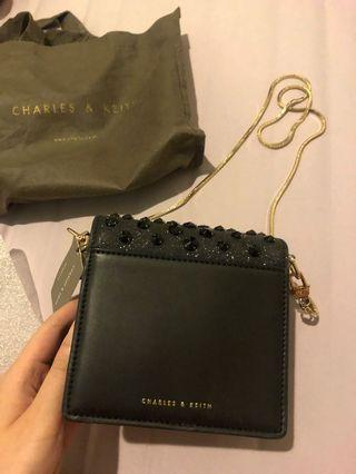 Charles & Keith Bag Mini Glitters