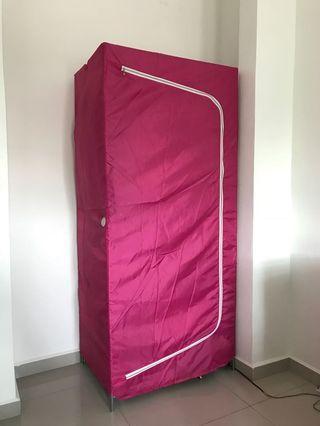 IKEA Breim Wardrobe in Pink