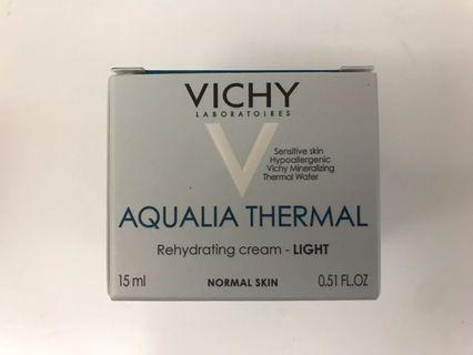 Vichy Aqualia Thermal Light Rehydrating Cream (15ml) 溫泉礦物活力保濕水份乳霜