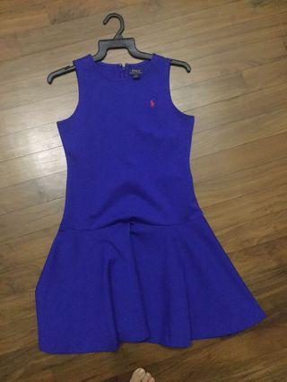 🚚 Royal Blue Ralph Lauren dress