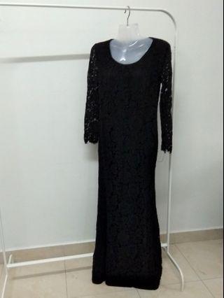 Black Long Dress / Event Dress