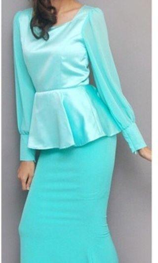 Studio Frost Turquoise Dress