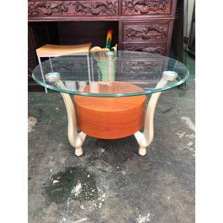 非凡二手家具 玻璃造型小茶几*沙發桌*辦公茶几*和室桌*茶几桌*客廳桌*泡茶桌*餐桌*