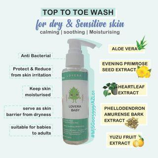 *NEW* LOVERA TOP TO TOE WASH