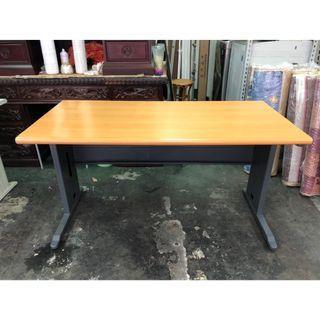 非凡二手家具140cm木紋辦公桌*主管桌*事務桌*工作桌*電腦桌*矮桌*會計桌*洽談桌*書桌*OA桌*鐵桌