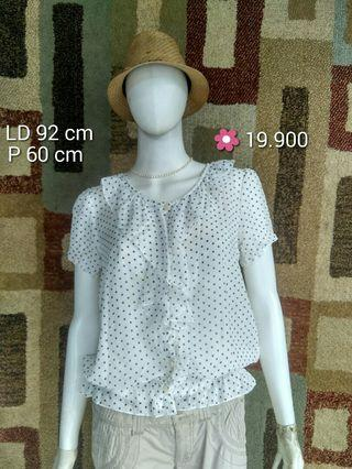 BLOUSE WANITA PRELOVED JAPAN