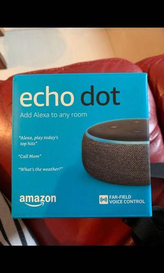 🚚 全新未拆Amazon echo dot