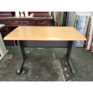 非凡二手家具120cm木紋辦公桌*主管桌*事務桌*工作桌*電腦桌*矮桌*會計桌*洽談桌*書桌*OA桌*鐵桌