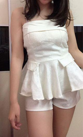Brand new Korea lacey top tube + pant