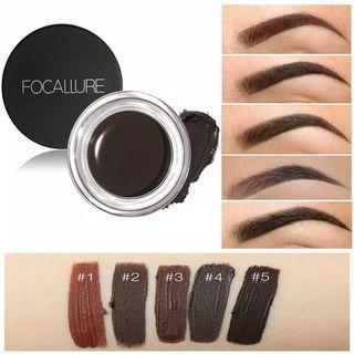 Hot! Focallure Eyebrow Pomade Gel Waterproof Durable Cream Pomade