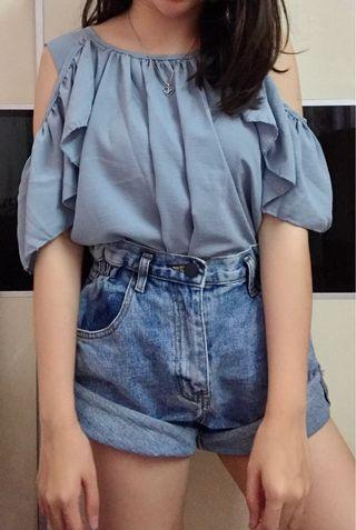 Brand new Korea off shoulder top