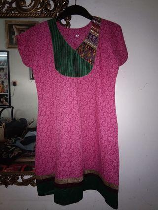 Tunik India Pink