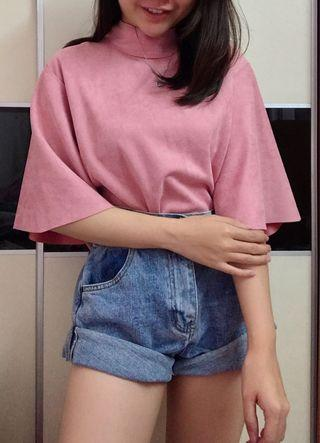 Brand new Korea ruffle top