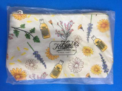 全新 Kiehl's Cosmetic Bag 化妝袋