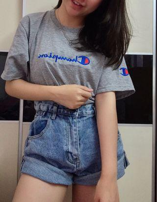 Brand new inspired Champion top