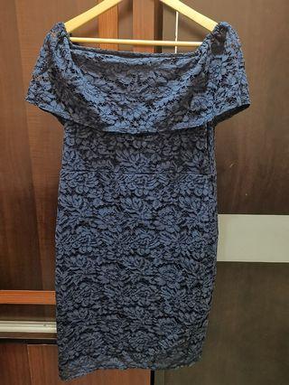 Dark Blue Dress *100% NEW*