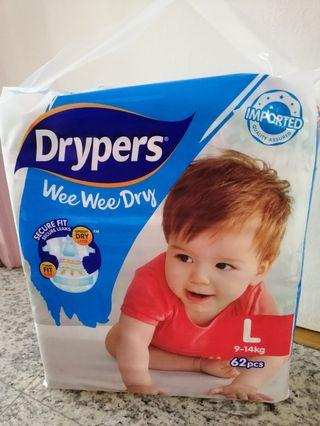 BN Drypers taped L