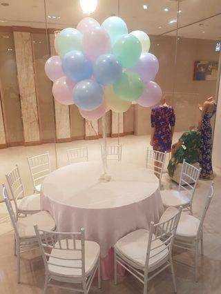 Table tentage and chair rental