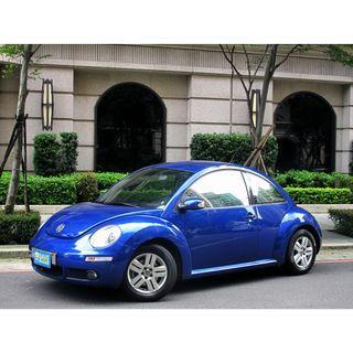 福斯 Beetie 1.6 一手車 跑八萬 雙安 abs 省油省稅 外型可愛