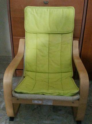 IKEA POANG Armchair (Kiddie size)